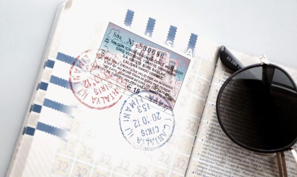 geldigheid paspoort reizen turkije