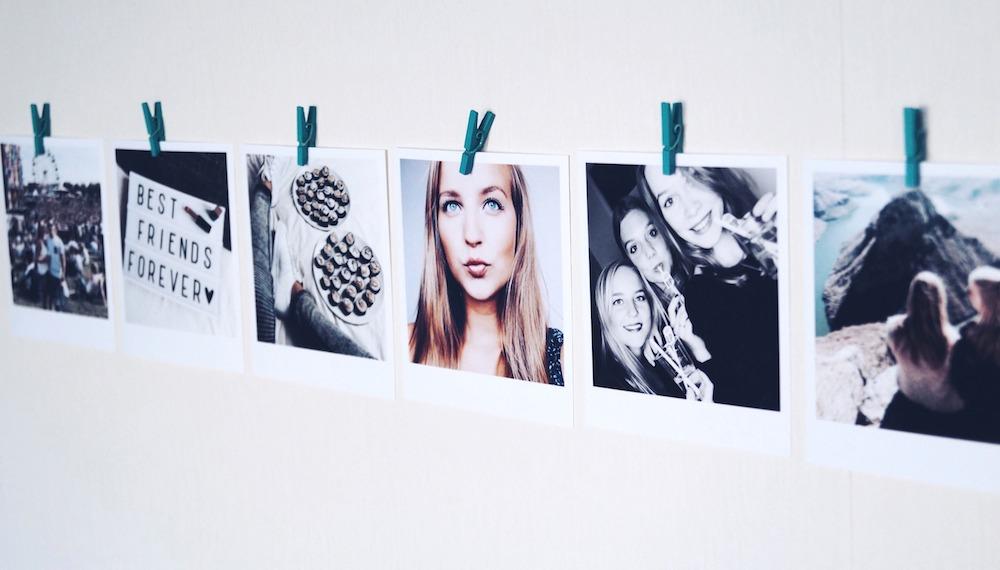 Polabora polaroid foto's