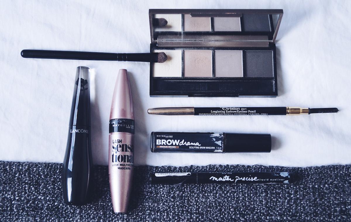 Make-up routine